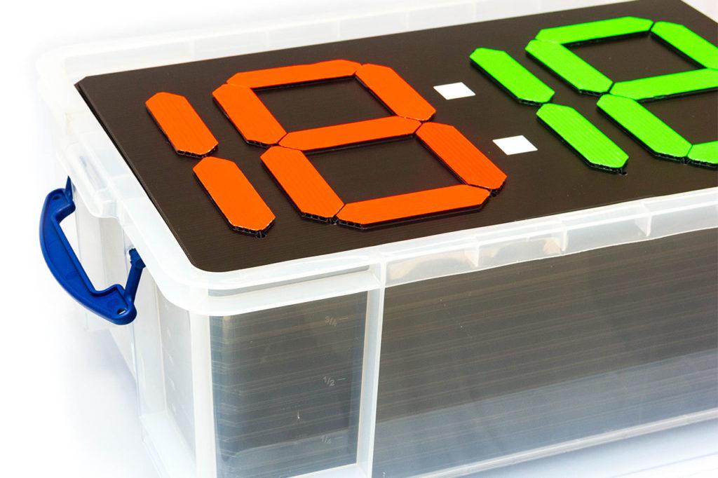 Transportbox für Anzeigetafeln Medium